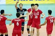 جوانان والیبال مقابل بحرین  پیروز شدند