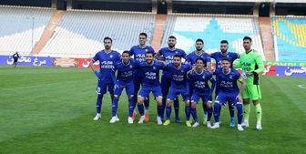 ترکیب تیم فوتبال استقلال در دربی مشخص شد