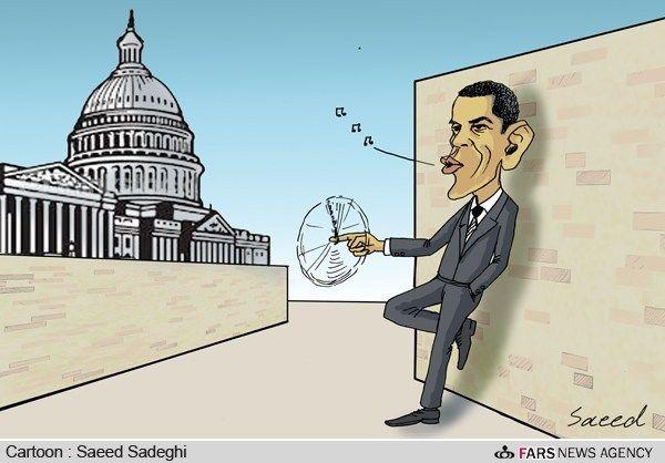 بیکاری اوباما و دولتش!/ کارتون: سعید صادقی
