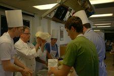 کارگاه آموزشی پخت و پز در فضا!