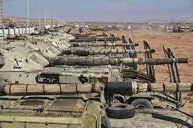 رزمایش ارتش در مرز آذربایجان+فیلم