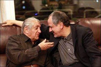 رییس شورای شهر تهران به دیدار آقای بازیگر رفت