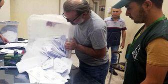 پایان رای گیری انتخابات پارلمانی سوریه
