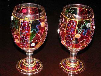 ابداع طرحی نوین در تراش شیشه توسط هنرمند قزوینی