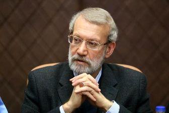 لاریجانی: «جهش تولید» مسیر اعتلای کشور است