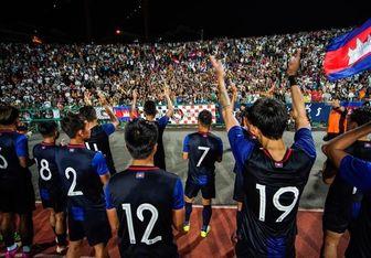 حلقه اتحاد کامبوجیها برای بازی با ایران