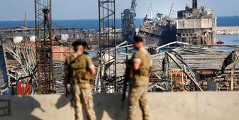 مواد منفجره یافت شده در بندر بیروت معدوم سازی شد