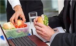یک رژیم غذایی متعادل برای افراد شاغل