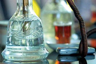 مصرف شیشه توسط قلیان نشدنی است