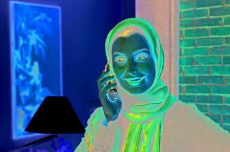خانم بازیگر اولین سریال غیرتاریخیاش را بازی می کند/عکس