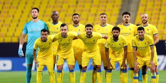 ترکیب النصر عربستان مقابل تراکتور مشخص شد