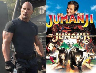جدیدترین تصاویر گرانترین بازیگر جهان در «جومانجی ۲»