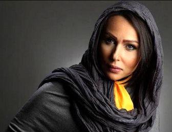 بازیگر زن پرحاشیه در جشن تولد معصومه کریمی/عکس