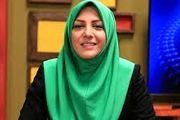 واکنش تند خانم مجری به افزایش قیمت لبنیات/ عکس