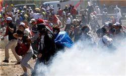 تظاهرات معترضان به قانون اینترنت در استانبول