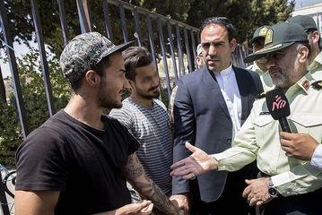 بازداشت اراذل و اوباش تهران/ گزارش تصویری
