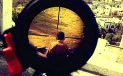 کودک فلسطینی هدف تک تیرانداز اسرائیلی