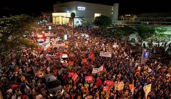 تظاهرات صهیونیستها علیه سیاست های اقتصادی دولت