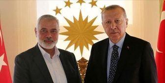 سفر رئیس دفتر سیاسی حماس به ترکیه