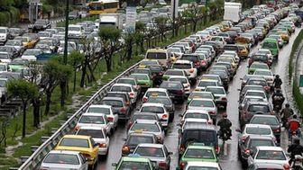 آخرین وضعیت ترافیکی معابر تهران 17 دی 99