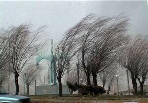 هشدار باد شدید در پایتخت تا امشب