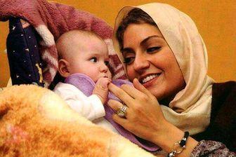 یک سالگی دختر مهناز افشار/ عکس
