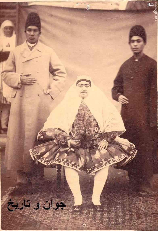 عکس/ مادر مظفرالدین شاه