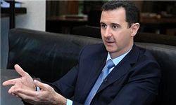 اسد: از ریاست جمهوری کنارهگیری نمیکنم