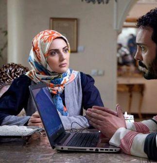 «هلیا امامی» با حجابی مثال زدنی در سریال ده نمکی/ عکس