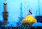 تصاویری دیدنی از بارش رحمت الهی در بین الحرمین