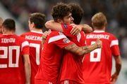 پیروزی روس ها مقابل ترکیه در لیگ ملت های اروپا