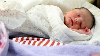 نوزادی که در اسنپ بدنیا آمد!