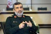 توضیحات سردار حاجیزاده درباره شلیک متفاوت موشک بالستیک