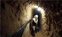 حمله ارتش مصر به تونلهای غزه