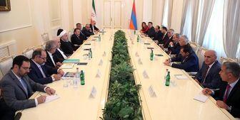 روحانی و نخستوزیر ارمنستان دیدار و گفتوگو کردند