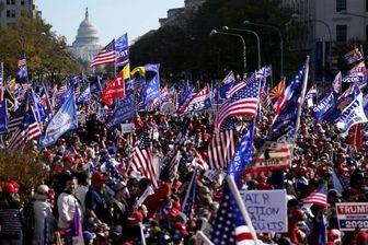 ترامپ: آنتیفا به طرفداران بیگناهم حمله کرد