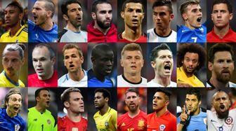 محبوبترین فوتبالیستهای جهان در شبکههای اجتماعی+تصاویر