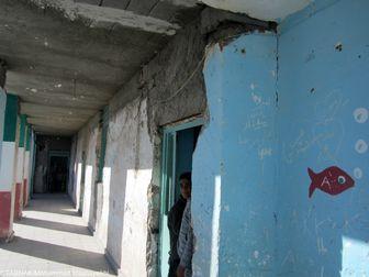 دانشآموزانی که هنوز در زیرزمین درس میخوانند!