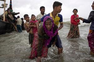 گزارش رویترز از کمبود شدید مواد غذایی برای مسلمانان روهینگیا
