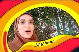مهسا ایرانیان، کمدین پر انرژی ایران/  عکس