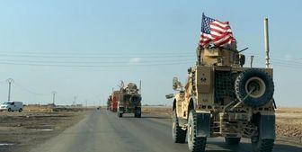 رفت و برگشت نظامیان آمریکایی به پایگاه های نظامی در خاک سوریه