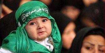 ابراز ارادت به شیرخواره سیدالشهدا(ع) در ۵۳۰۰ نقطه ایران و ۴۱ کشور جهان