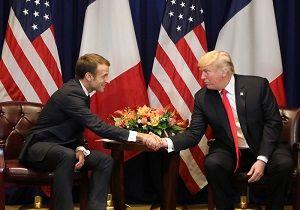 زورآزمایی مکرون و ترامپ در کاخ الیزه سوژه رسانهها شد