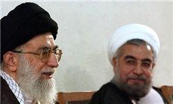 دیدار حسن روحانی با رهبر معظم انقلاب