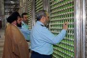 تجدید میثاق فرمانده جدید نیروی هوایی با آرمانهای امام راحل و شهدا