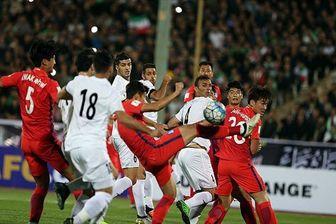 تصویری زشت و تاسفبار از بازی دیشب ایران و کرهجنوبی