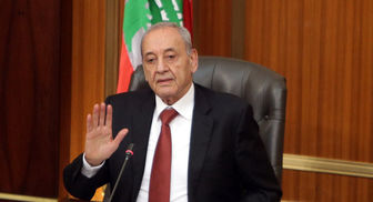 نبیه بری پذیرش استعفای حریری را منوط به اعلام آن از خاک لبنان دانست