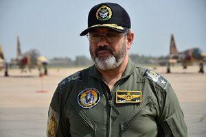 بازدید امیر سرتیپ نصیرزاده از پایگاه هوایی چابهار