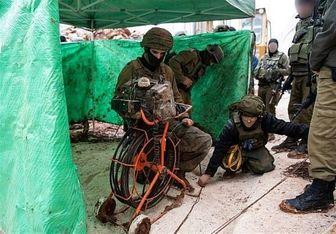 رژیم صهیونیستی مدعی کشف تونل جدید حزب الله شد