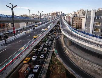 پل تقاطع غیرهمسطح بزرگراه شهید چمران به صورت آزمایشی افتتاح شد